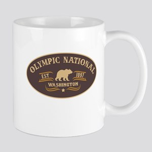 Olympic Belt Buckle Badge Mug